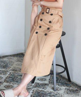 【WEB限定】トレンチスカート