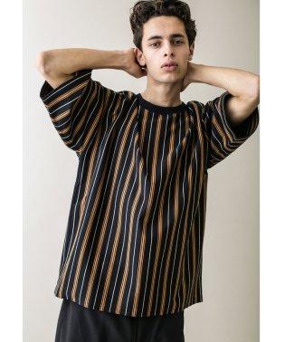 <monkey time> TJK MULTI STRIPE TEE/Tシャツ