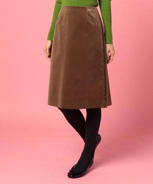 【セットアップ対応商品】コットンベルベットスカート