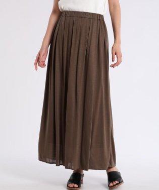 ロングカットスカート