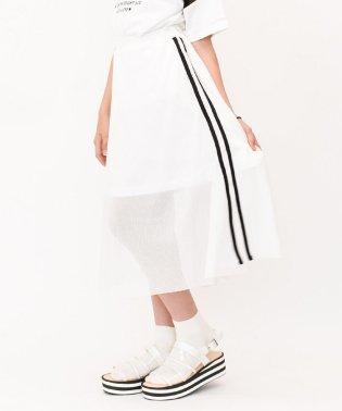 メッシュロングスカート