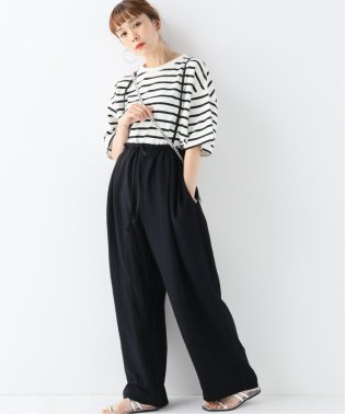 【CLANE/クラネ】 LOOSE SUSPENDER PANTS:パンツ