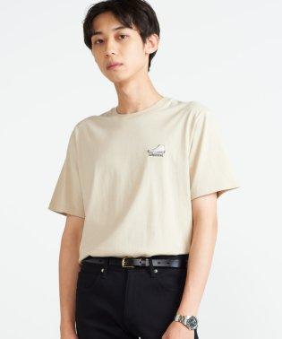 コンバースワンポイントシューズ刺繍Tシャツ(S)