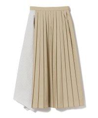 Ray BEAMS / アシメ キリカエ プリーツ スカート