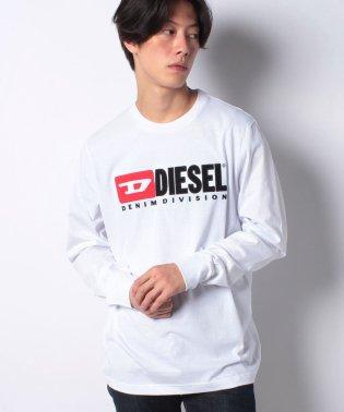 DIESEL(apparel) 00SLJY 0CATJ 100 LS T-SHIRT