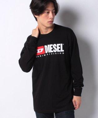 DIESEL(apparel) 00SLJY 0CATJ 900 LS T-SHIRT