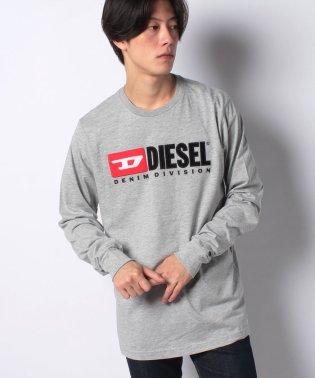 DIESEL(apparel) 00SLJY 0CATJ 912 LS T-SHIRT