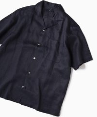 SC: リラックスシルエット ラミー オープンカラーシャツ