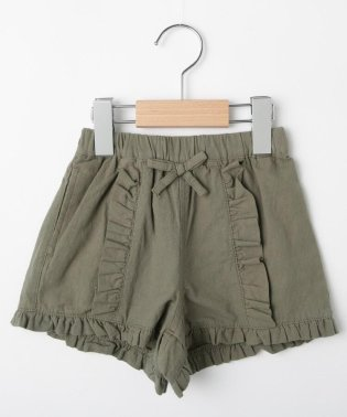 【90-150cm】フリルショートパンツ
