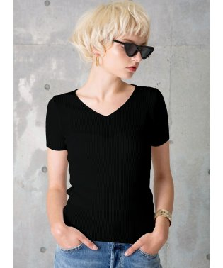 Basic Vneck Rib Top