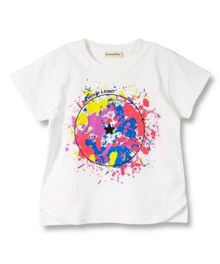 ペイントデザイン半袖Tシャツ(90~150cm)