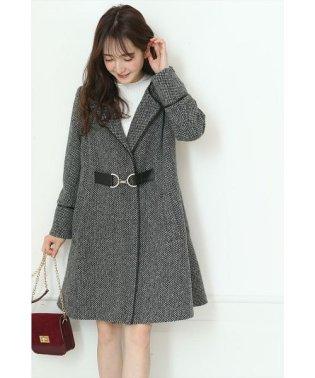裾フレアAラインコート