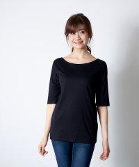 バックバレエ5分袖Tシャツ