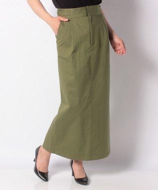 【KBF】チノロングタイトスカート