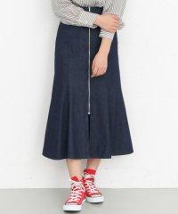 【KBF】マーメイドフロントZIPスカート