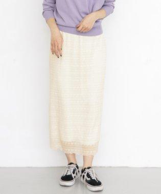 【KBF】レースロングスカート
