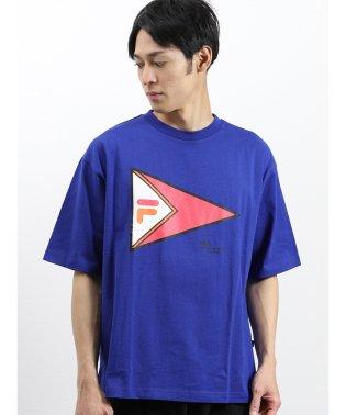 フィラ/FILA コットン ビッグロゴ半袖Tシャツ