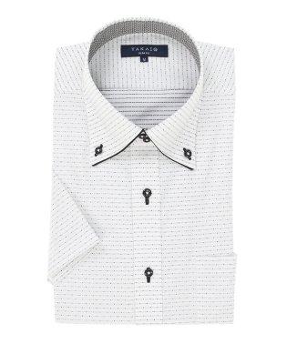 形態安定吸水速乾スリムフィット ドゥエボタンダウン半袖シャツ