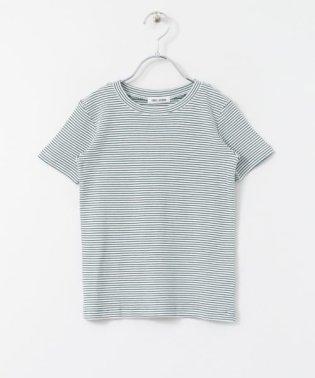 FORK&SPOON ミジンボーダーフライスTシャツ(KIDS)