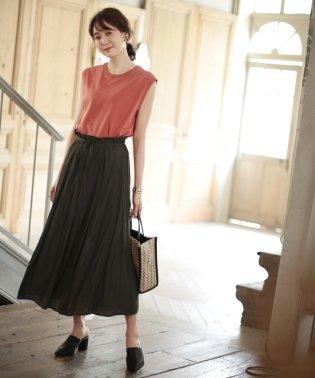 ★【WEB限定】前後2Wayヴィンテージサテンギャザースカート