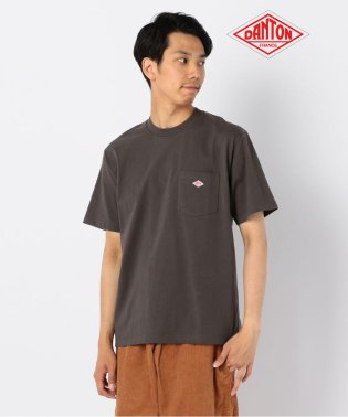 【DANTON/ダントン】ポケット付Tシャツ #JD-9041