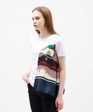 【TVドラマ着用】ドレープ スカーフ Tシャツ