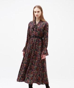 【otonaMUSE10月号掲載】ヴィンテージフラワー シャツドレス