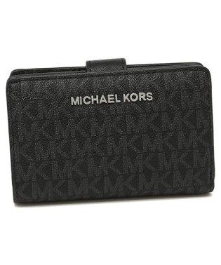 マイケルコース 折財布 アウトレット レディース MICHAEL KORS 35F8STVF2B BLACK ブラック