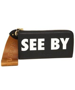 シーバイクロエ 長財布 レディース SEE BY CHLOE CHS18AP821 443 001 ブラック