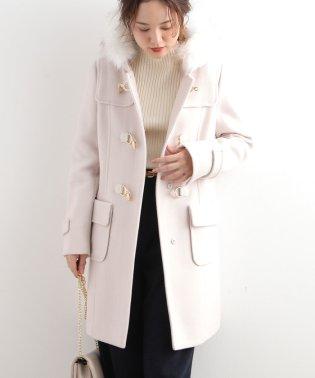 【WEB限定】二重織りメルトンビット付コート