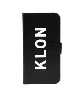 KLON iPhone X FLIP CASE (LOGO LARGE) BLACK