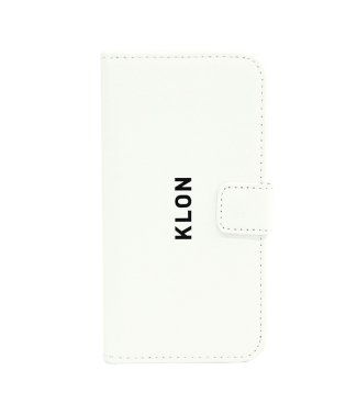 KLON iPhone X FLIP CASE (LOGO SMALL) WHITE