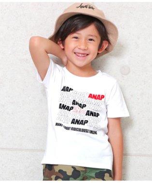 ポイントカラーANAPロゴTシャツ