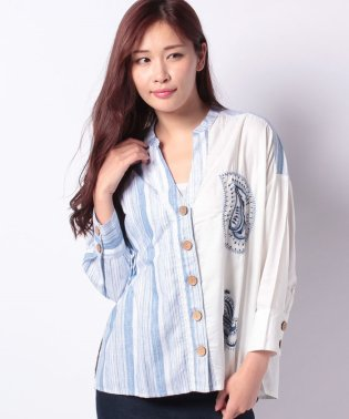 WOVEN SHIRT LONG SLEEVE