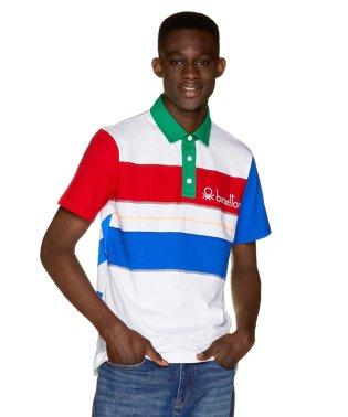 カラーブロックポロシャツJCC(ユニセックス)