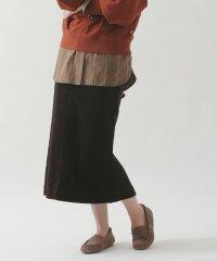 【ムック本掲載】USAコットンコーデュロイタイトロングスカート