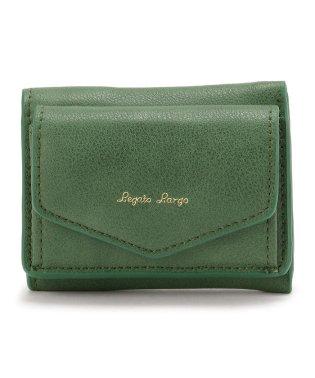Legato Largo/レガートラルゴ/シュリンク三つ折りミニ財布