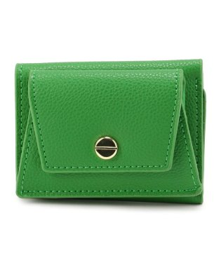 Legato Largo/レガートラルゴ/フェイクレザー三つ折りミニ財布《LJ-E0625》