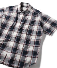 SU:【HEAVENLY COTTON】ボックス チェック ショートスリーブシャツ