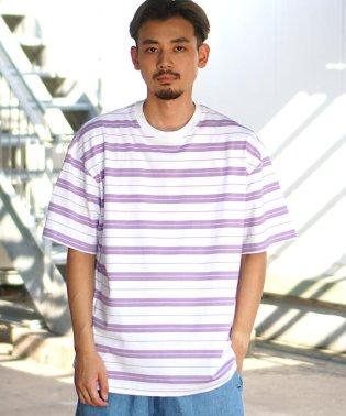 BEAMS / ボーダー ビッグ Tシャツ