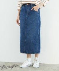 【WRANGLER×ROPE' PICNIC】セミロングスカート
