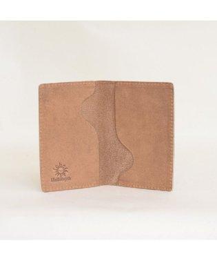 シンプル牛革名刺ケース 2ポケット カードケース