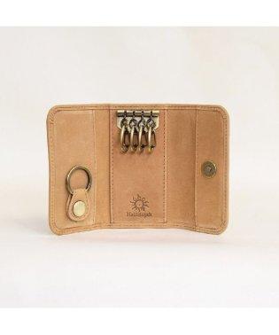 オールレザーキーケース 4連+1連 カード収納可能