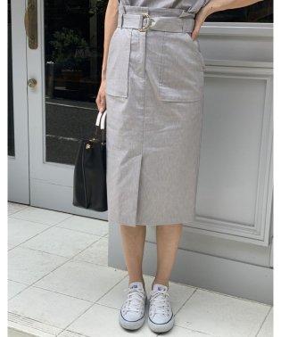 【セットアップ対応商品】ハイストレッチアウトポケットタイトスカート