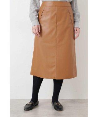 ◆シンラムキッドフェイクレザースカート