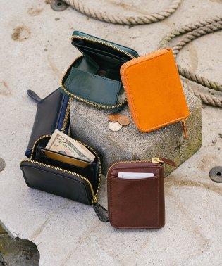 MURA 財布 メンズ コインケース スキミング防止 イタリアンレザー ブライドルレザー