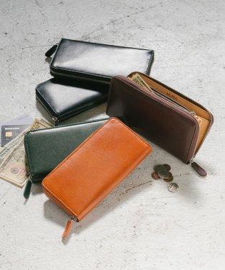 MURA 財布 メンズ 長財布 スリム スキミング防止 イタリアンレザー ブライドルレザー
