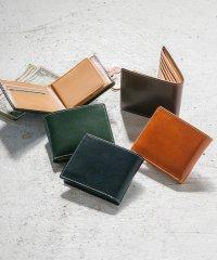 MURA 財布 メンズ 二つ折り スリム スキミング防止 イタリアンレザー ブライドルレザー