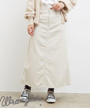 【一部店舗限定】【WRANGLER×ROPE' PICNIC】コーデュロイフレアスカート