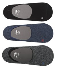 Healthknit(ヘルスニット)Ag+ 抗菌加工無地インステップソックス 3足セット/靴下 メンズ ソックス ショートソックス くるぶし 抗菌